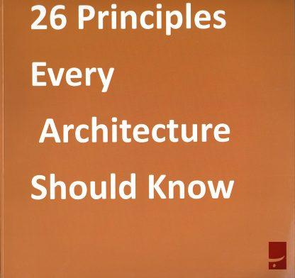 ۲۶ اصلی که هر معمار باید بداند