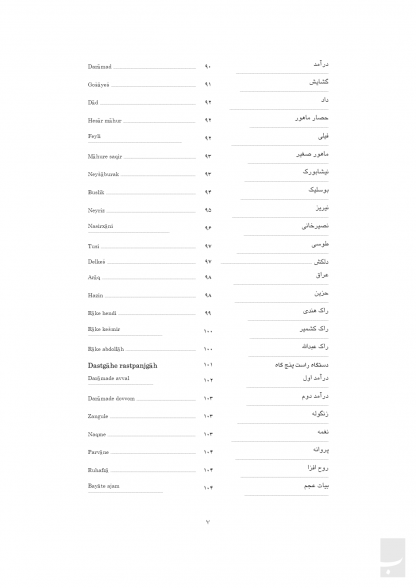 تجزیه و تحلیل ردیف آوازی استاد عبدالله دوامی
